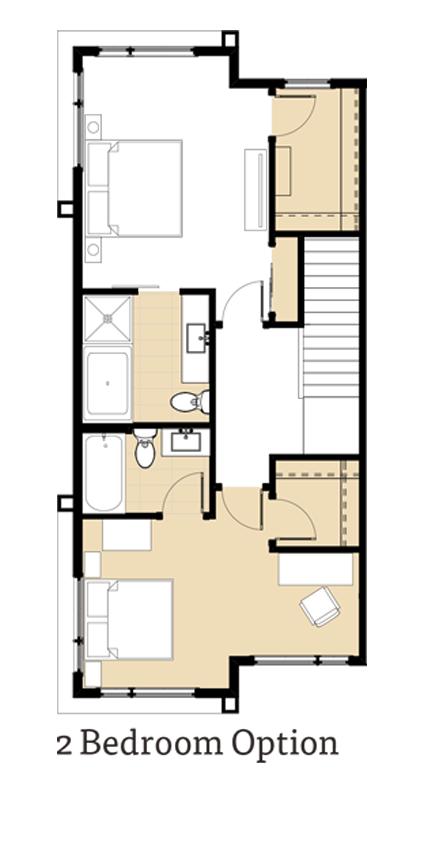 Amara 2 Bedroom Option