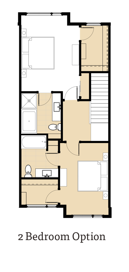 Calla 2 Bedroom Option