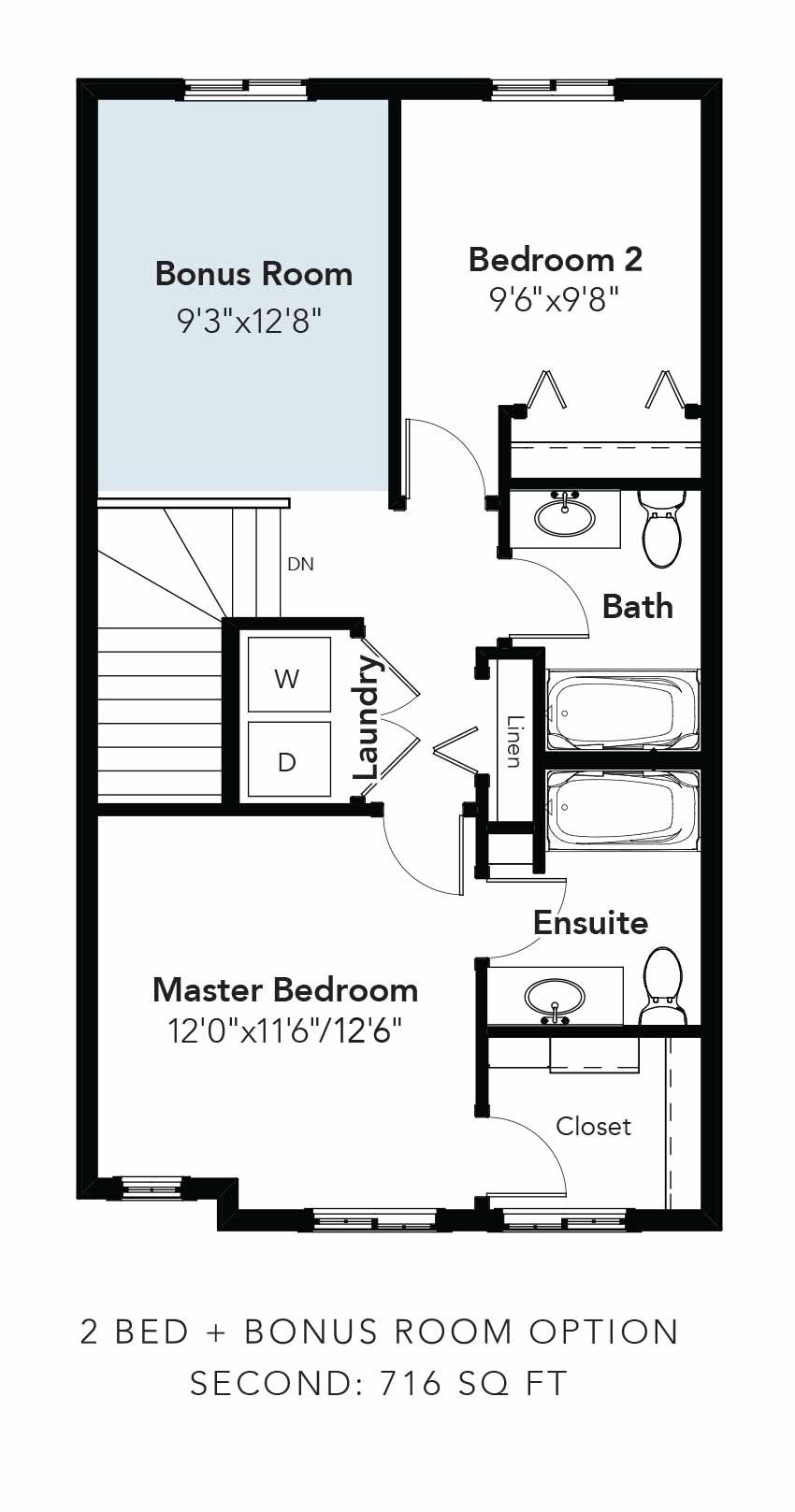 Niagara 2 Bed + Bonus Room