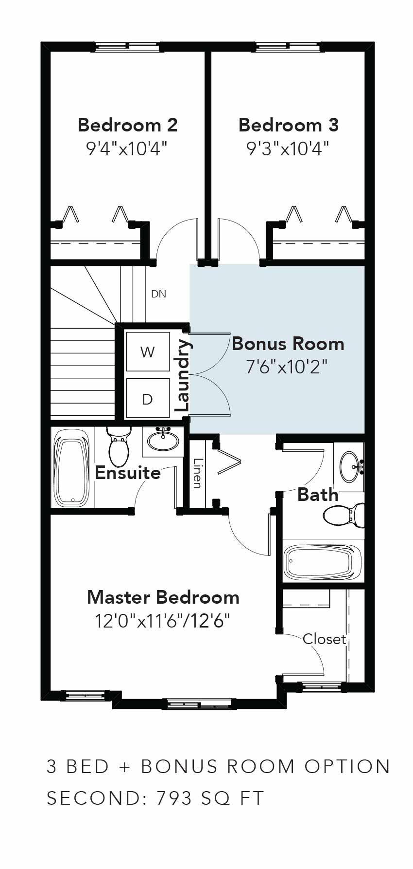 Niagara 3 Bed + Bonus Room