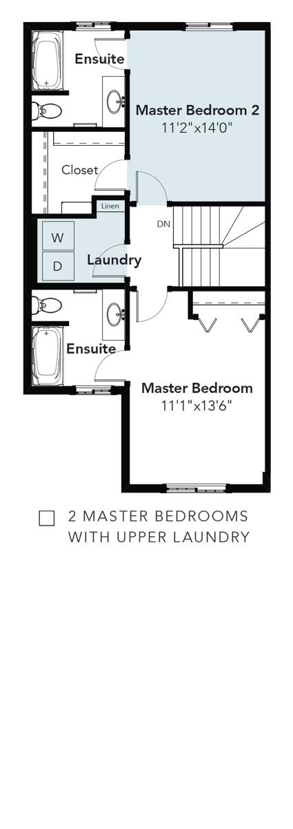 Panorama 2 Master Bedrooms