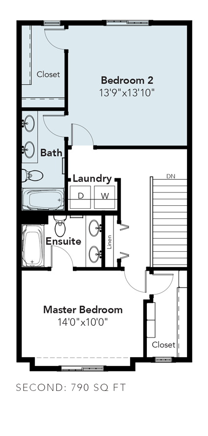 York Dual Master Bedrooms