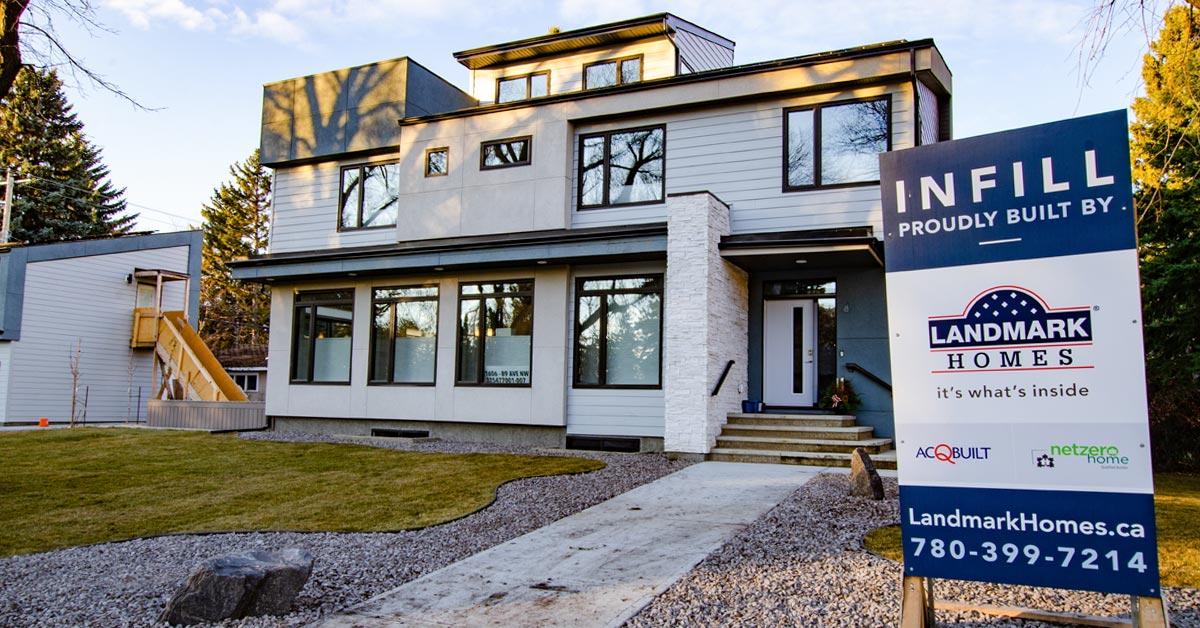 Infill Properties by Landmark Homes