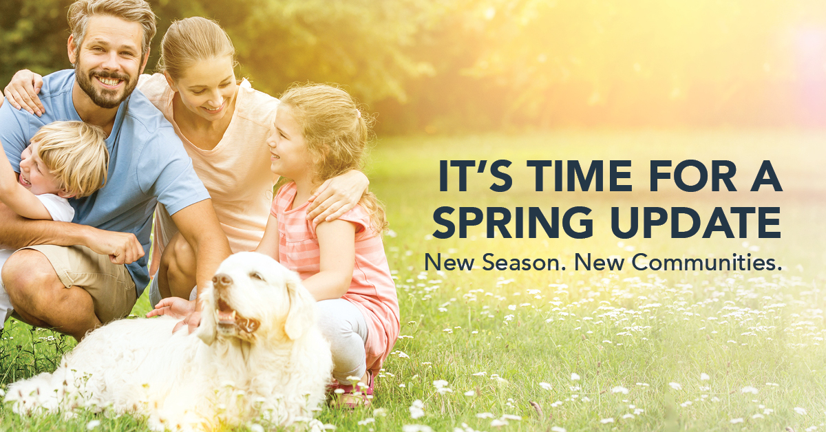 It's time for a Spring Update!