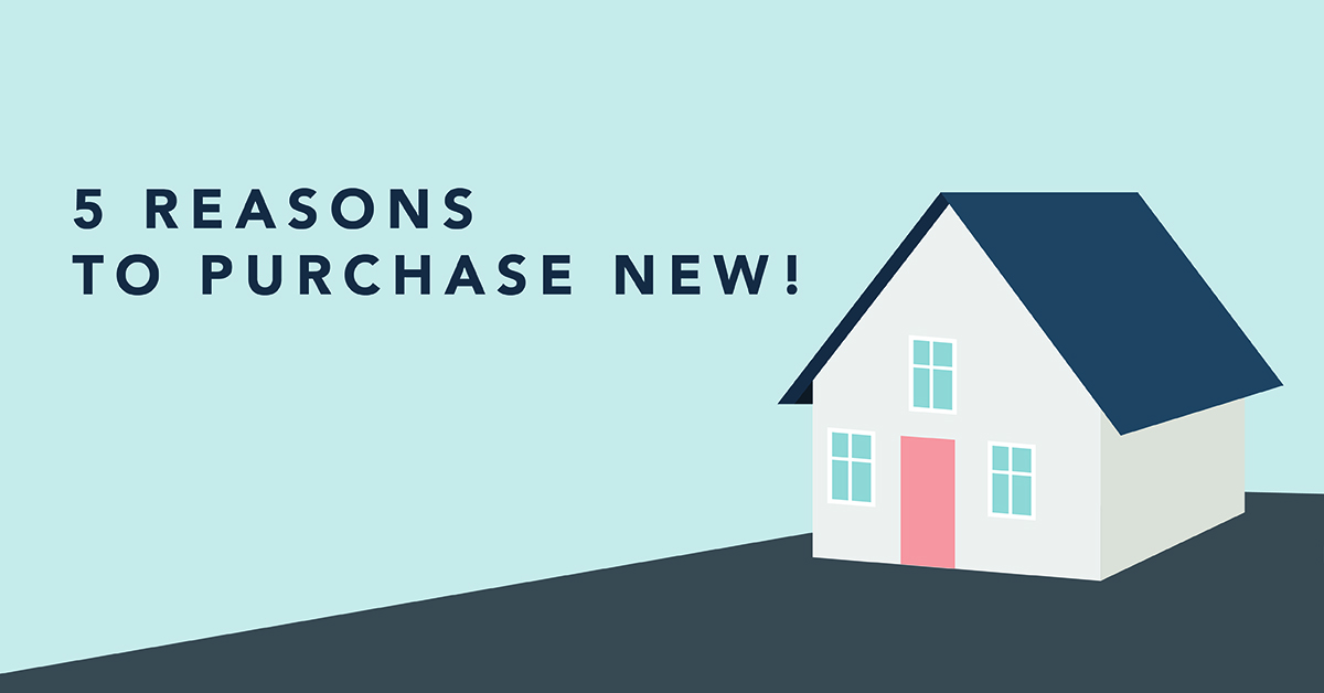 Preowned Vs. Presale. Reasons to Purchase New!