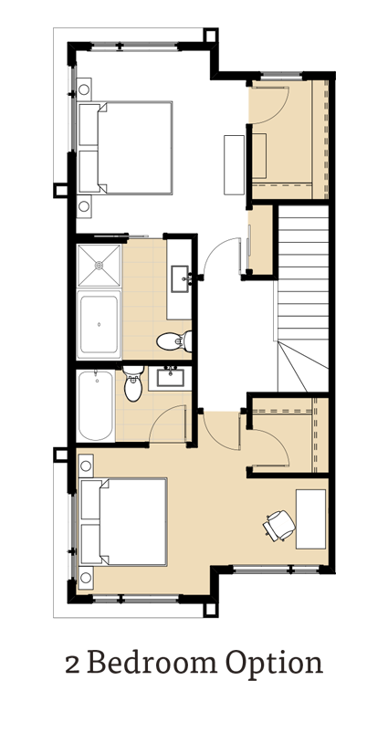 Amara II 2 Bedrooms Option