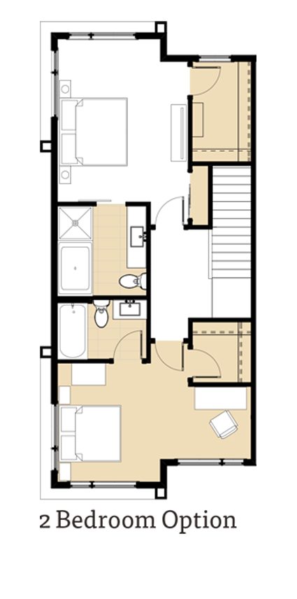 Amara 2 Bedrooms Option
