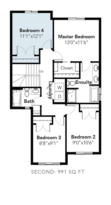 Austin 4th Bedroom