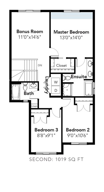 Austin Bigger Master Bedroom