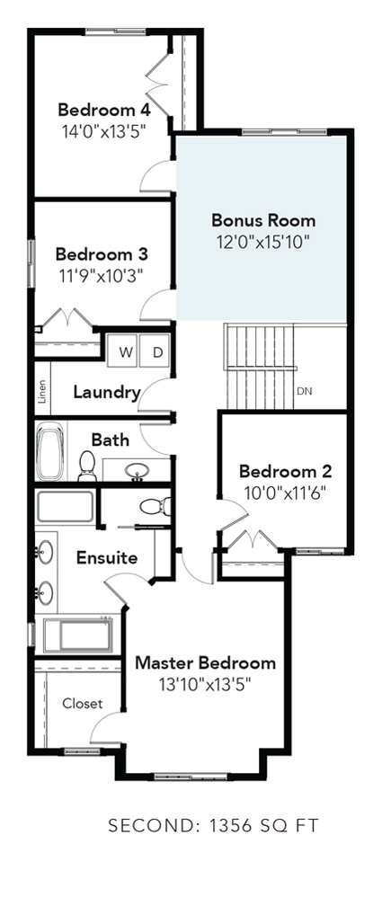 Bristol 4th Bedroom & Bonus Room