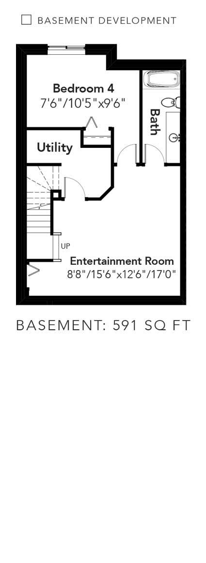 Churchill Basement Developed