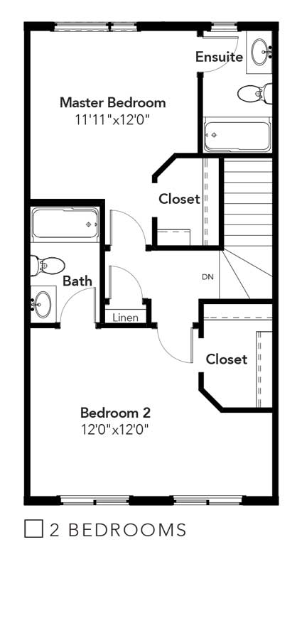 Emerson 2 Bedroom Option