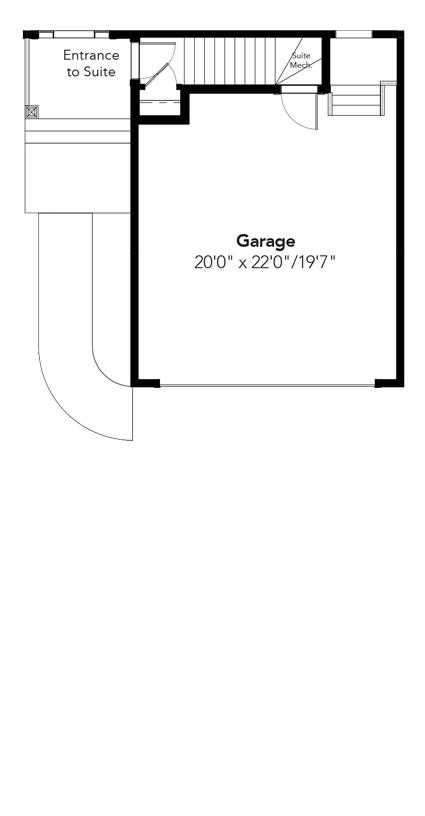 Seattle Garage Suite Entrance