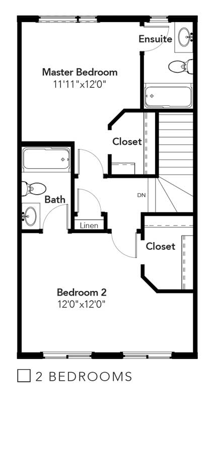 Stanton 2 Bedrooms Option
