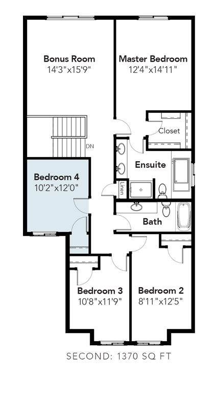 Sydney 4th Bedroom