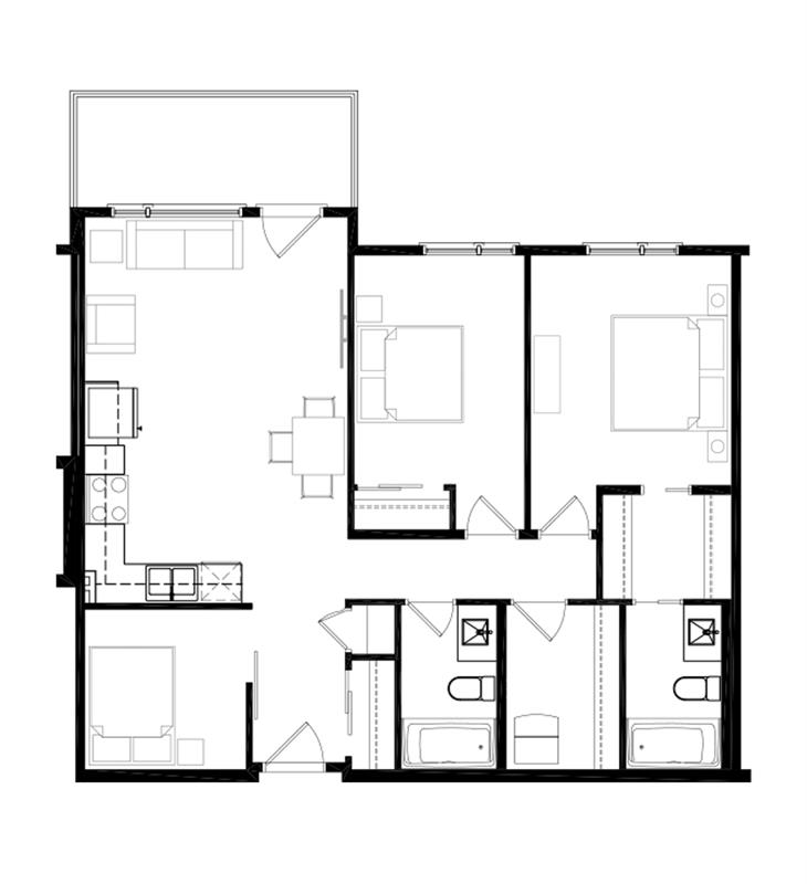 Ver 3 Bedroom Option