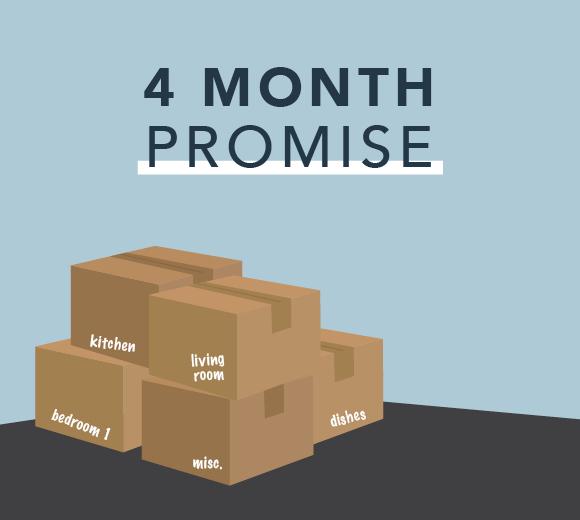 Landmark Homes 4 Month Promise