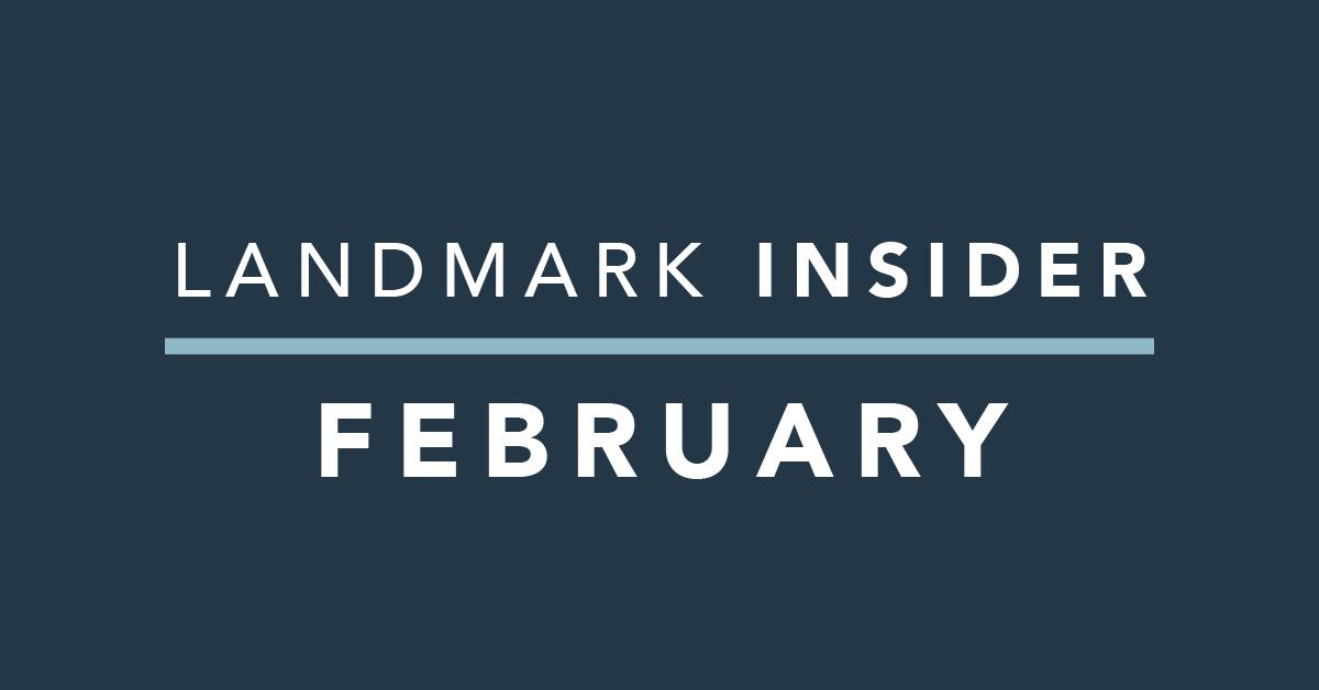Landmark Homes Insider: February 2020