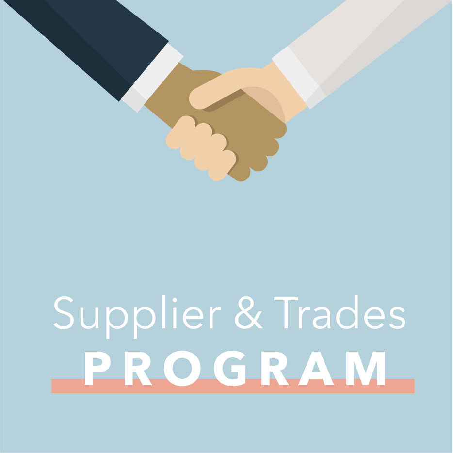 Supplier & Trade Program